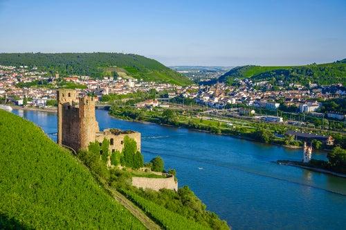 Ruedesheim en el Rhin Romántico