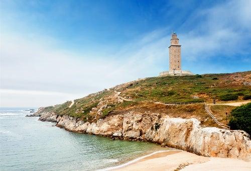 Torre de Hércules en Galicia