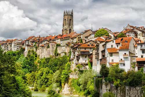 Damos un paseo por Friburgo, Suiza