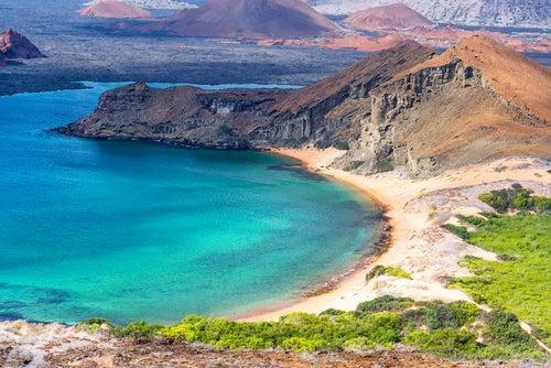 Isla Bartolomé en las Galápagos