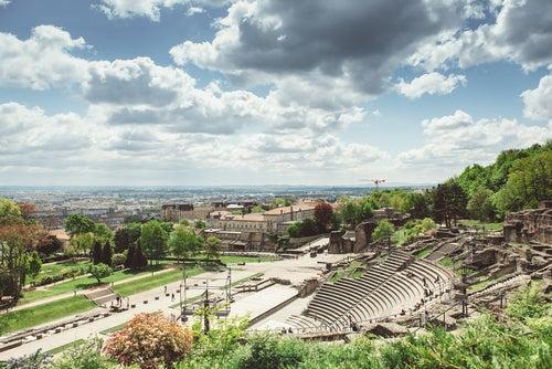 Anfiteatro de Trois Gaules en Lyon