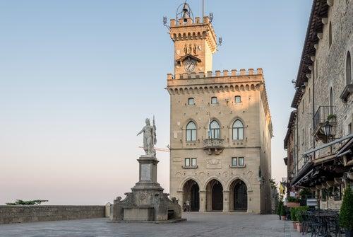 Palazzo Pubblico en San Marino