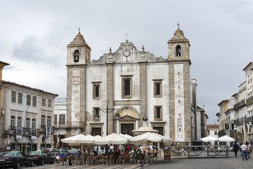 Évora en Portugal