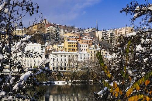 Monte Croix-Rousse en Lyon