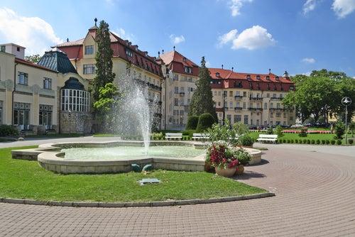 Balneario de Piestany en Eslovaquia