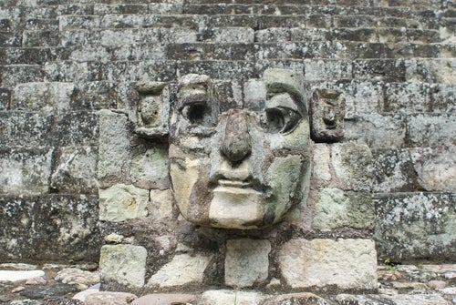 Detalle de Copán en Honduras