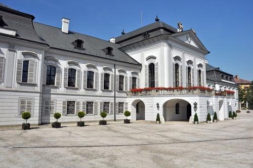 Palacio de Grassalkovic en Bratislava