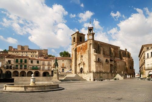 Vista de Trujillo en Extremadura