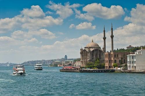 Mezquita Ortaköy en Estambul