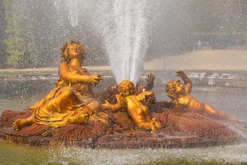 Fuente de Ceres en Versalles