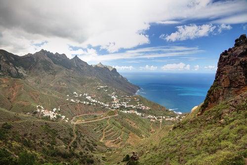 El hermoso Parque Rural de Anaga, en Tenerife