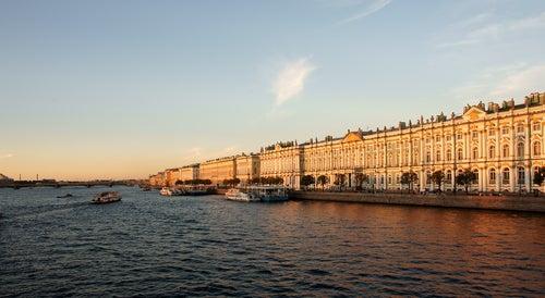 Museo del Hermitage en San Petersburgo