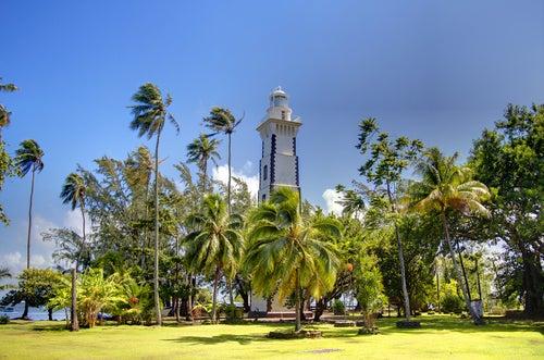 Faro de Venus en Tahití