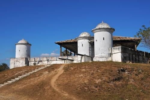 Fortaleza de San Cristóbal en Honduras