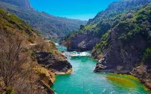 Paisaje natural en Pirineos