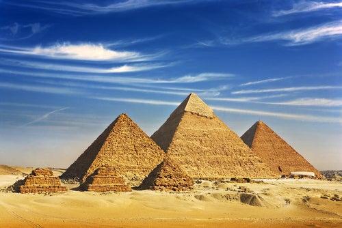 Pirámides de Giza en Egipto