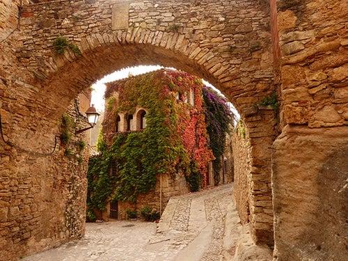 Calle de Peratallada en Girona