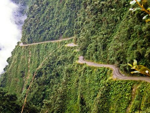 El Camino de la Muerte en Bolivia