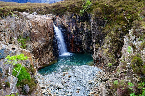 Cascada en Fairy Pools