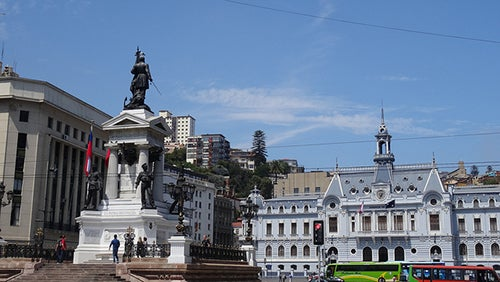 Casco historico de Valparaiso