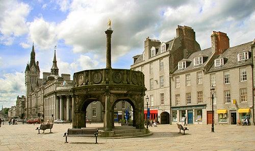 Castlegate en Aberdeen