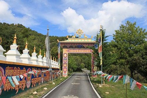 El centro budista Dag Shang Kagyu en Aragón
