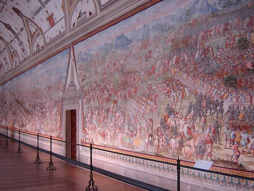 Sala de Batallas del Monasterio de El Escorial