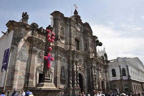 Iglesia de la Compañia en Quito