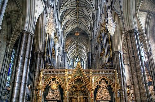 Interior de la Abadía de Westminster