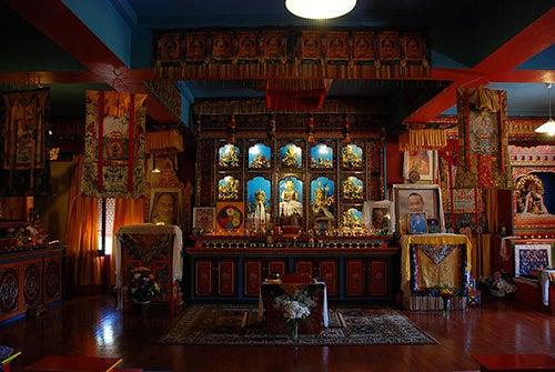 Interior Dag Shang Kagyu