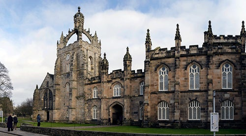 King´s College en Aberdeen