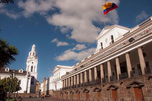 Palacio de Carondelet en Quito