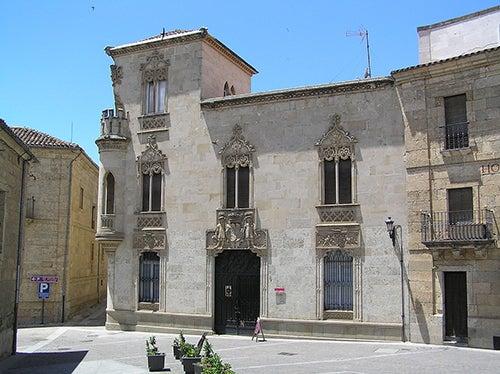 Palacio de la marquesa de Cartago en Ciudad Rodrigo