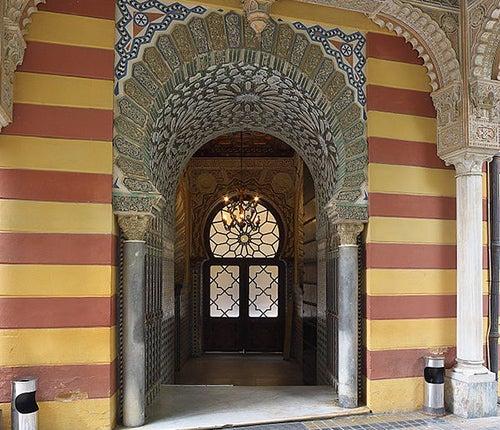 Palacio de Orleans en Sanlúcar