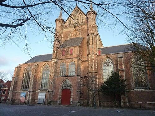 Pieterskerk en Leiden