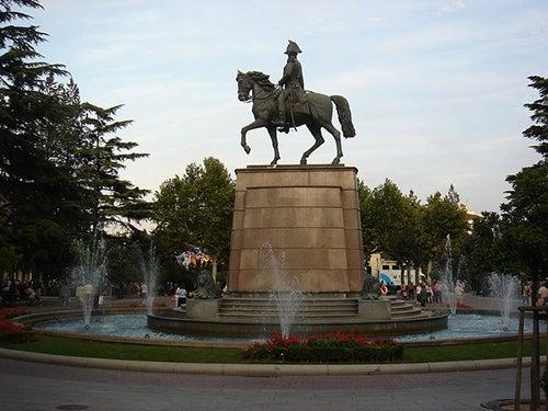 Plaza del Espolon de Logroño