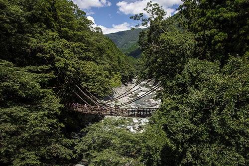 Puente en Kazurabashi