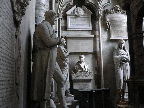 Rincón de los Poetas en la Abadía de Westminster