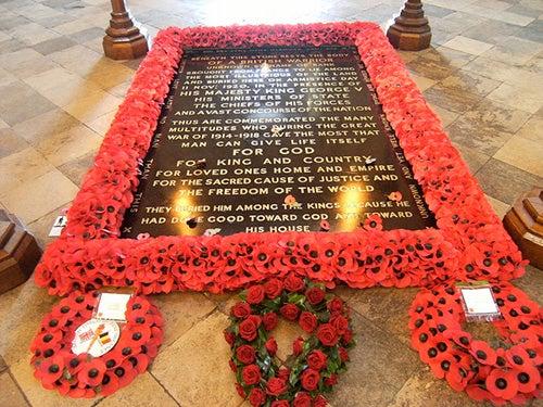 Tumba al Soldado Desconocido Abadía de Westminster