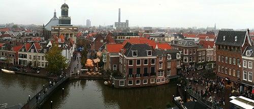 Vismarkt en Leiden