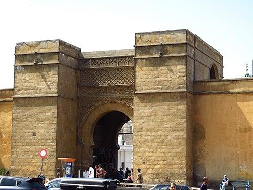 Entrada a la Medina de Casablanca