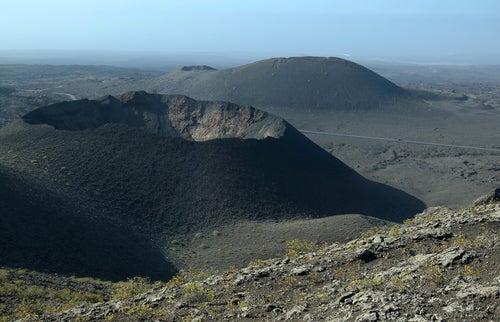 Cráter en Timanfaya