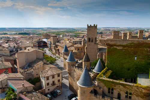 Olite en Navarra, un pueblo medieval de cuento