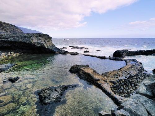 Playa Charco Azul en El Hierro