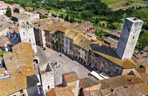 San Gimignano desde una de las torres