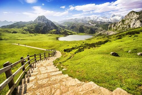 Lago Ercina en Picos de Europa