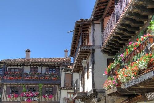 Casas típicas de La Alberca