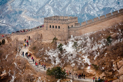 Invierno en la Gran Muralla