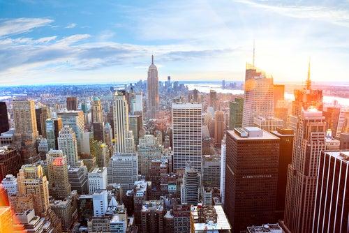 Skylines famosos Nueva York