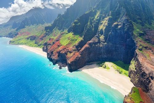 Kauiai en Hawaii